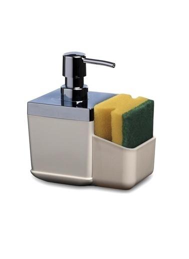Primanova Primanova Toscana Süngerlikli Mutfak Sıvı Sabunluk Dispenser Bej Bej
